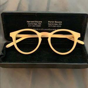 Bamboo glasses frames.